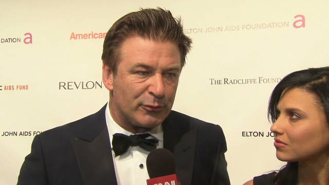 Alec Baldwin supports Occupy Wall Street