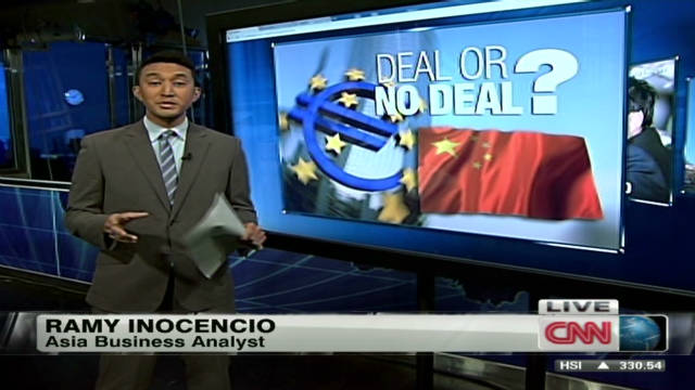 China: Deal or no deal with EU?