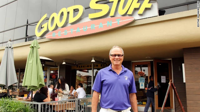 Cris Bennett, owner of Good Stuff Restaurant, has added more healthy options to his menu.