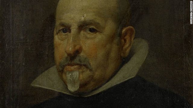 Portrait of a Gentleman, by Spanish artist Diego Rodriguez de Silva y Velazquez, sold in London on Wednesday.