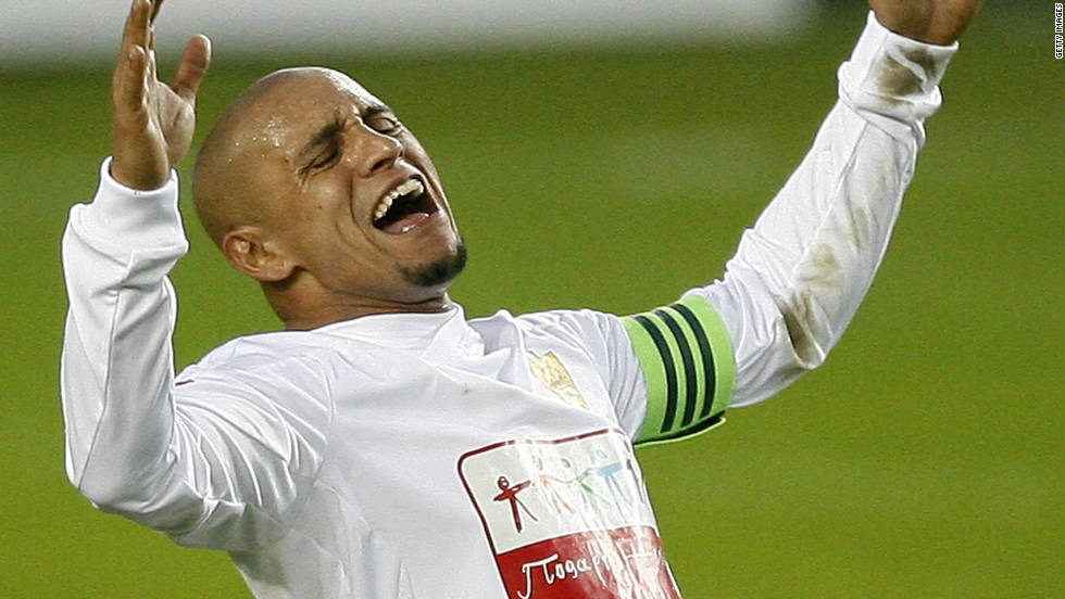 Brazilian World Cup winner Roberto Carlos walked off the pitch while playing for Russian team Anzhi Makhachkala against Krylya Sovetov in June the same year, after having a banana thrown towards him in the closing stages of the match.