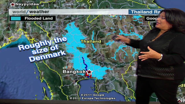 Thailand flood explained
