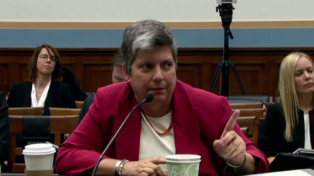 Napolitano asked tough questions on guns