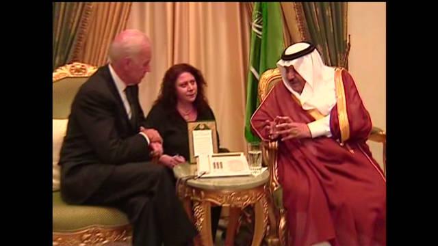 Biden meets Prince Nayef bin Abdelaziz