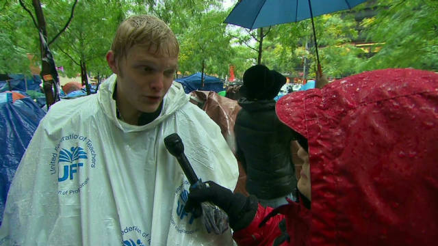 Occupy Wall Street braces for winter