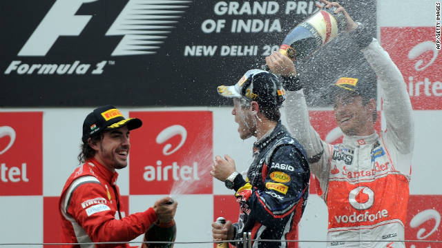 Jenson Button's second place in India ensures McLaren have finished runners-up in the constructors' standings