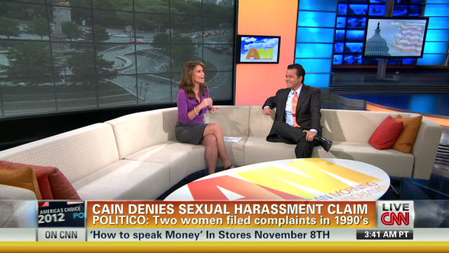 Will sexual harrasment claim hurt Cain?