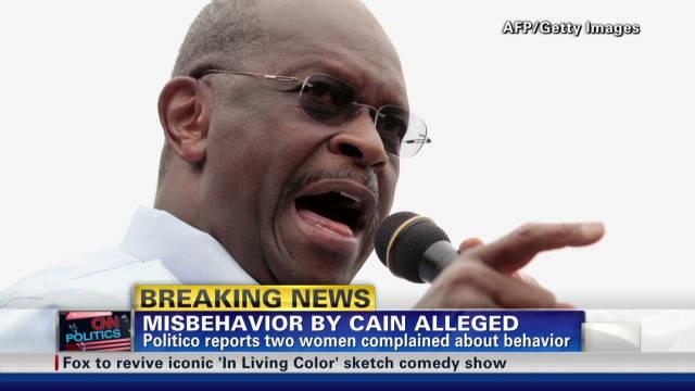 Herman Cain accused of bad behavior