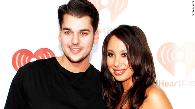 """There's not one day that goes by that he doesn't make me laugh and smile,"" Cheryl Burke said about Rob Kardashian."
