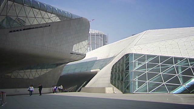 Guangzhou's striking opera house