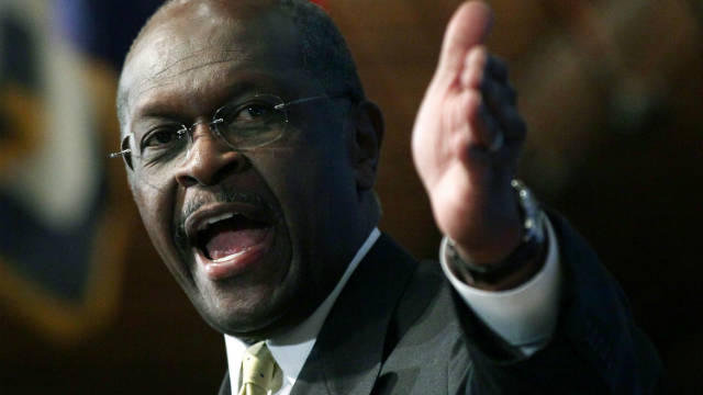 GOP contender Herman Cain denies that he sexually harassed two former National Restaurant Association employees.