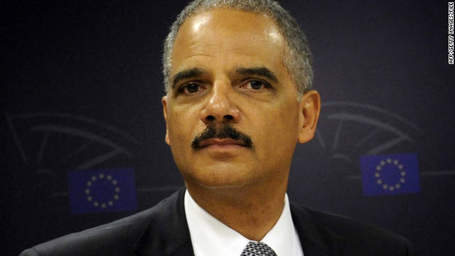 """A patchwork of state laws is not the solution and will only create problems,"" Attorney General Eric Holder said."