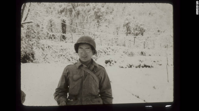 Susumu Ito in Germany, winter of 1944-45.