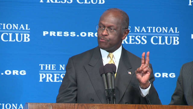 Cain's 'smear card' working for GOP