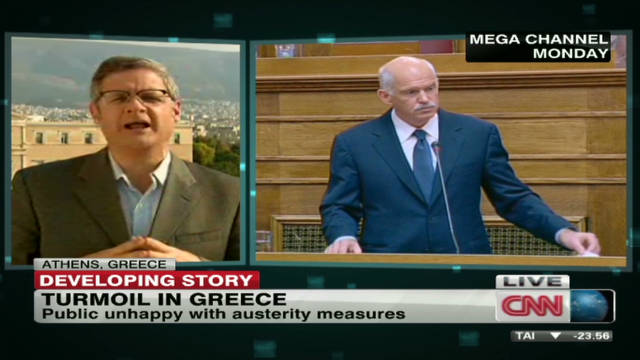 Greek government under fire for surprise