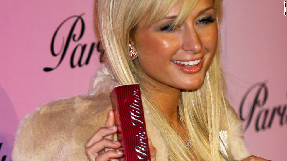"Hilton launched her own first perfume, ""Paris Hilton,"" in 2004."