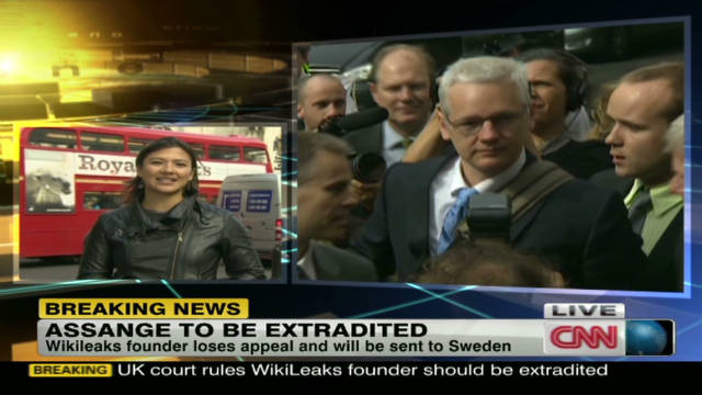 Julian Assange to be extradited