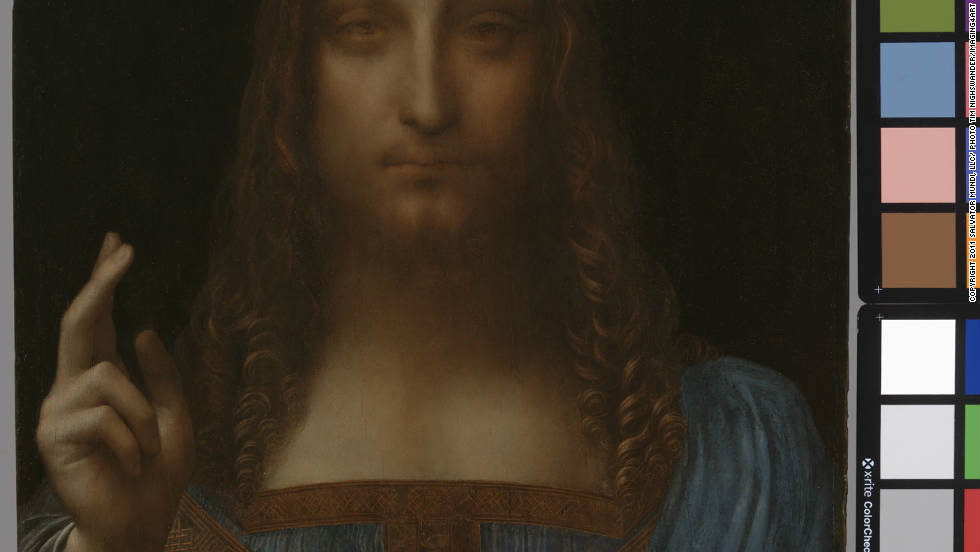 A little earlier this year the art world made an extremely rare discovery -- a painting by Leonardo da Vinci. The 500-year-old painting depicts the head and shoulders of Christ and is in sparkling condition after cleaning and restoration.
