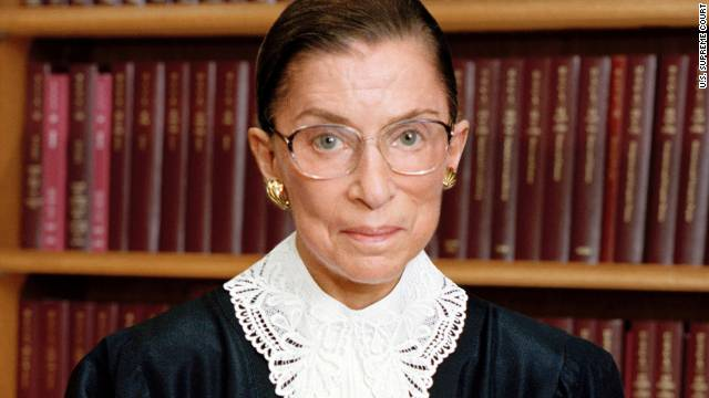 "Supreme Court Justice Ruth Bader Ginsburg says some have called the latest deliberations ""the term of the century."""