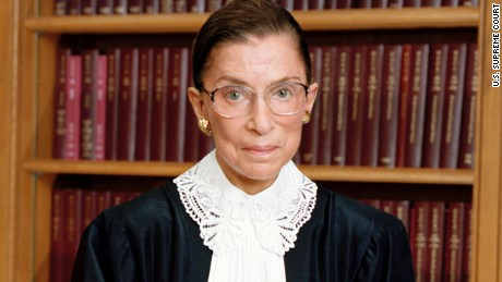 At VMI, Ruth Bader Ginsburg reflects on a monumental ruling