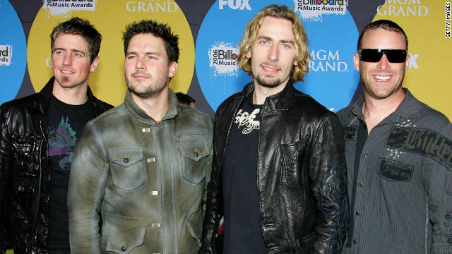 Look at this photograph (of Nickelback).