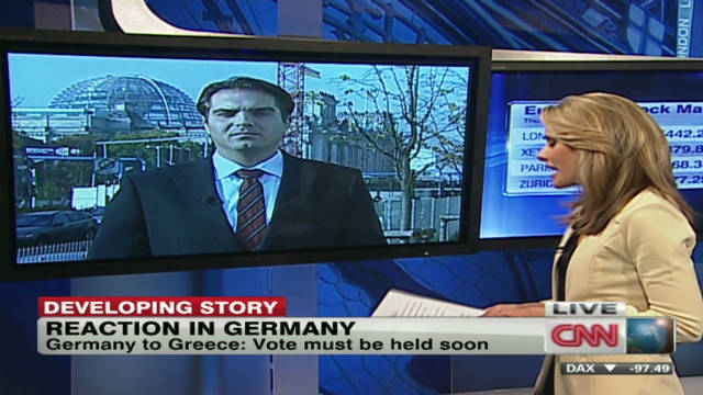 Germany to Greece: Vote must be held
