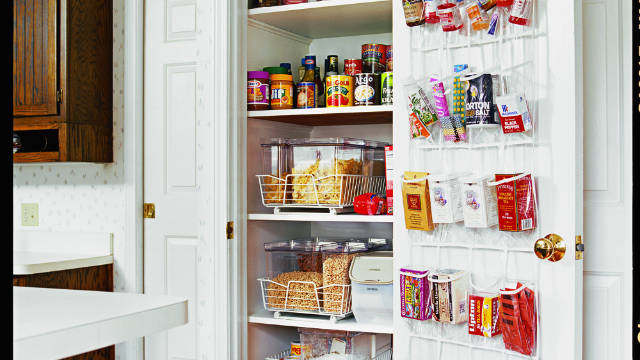 Doing a micro makeover, like sprucing up your pantry, is less overwhelming than an entire room.