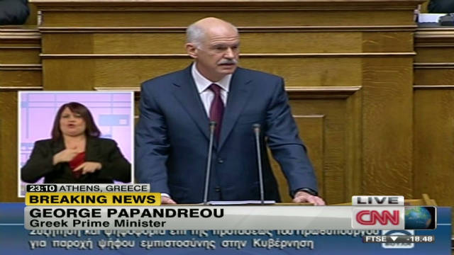 papandreou tragic mistakes in greece sot_00000225