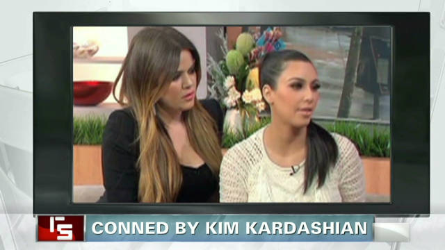 Conned by Kim Kardashian