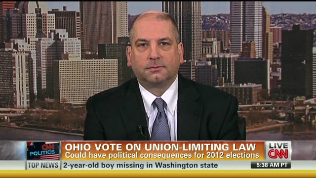 Ohio union vote could have 2012 effects