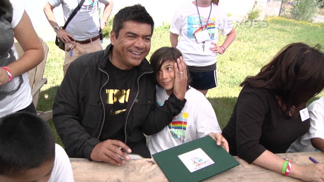 George Lopez offers help and hope.