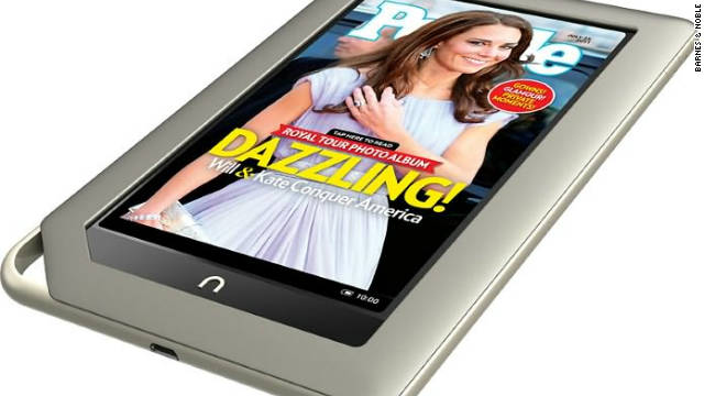 Barnes & Noble's Nook tablet was one of the devices that led to massive gains in tablet and e-reader ownership.