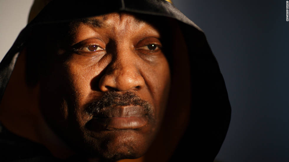 Frazier poses for a portrait at his boxing gym in 2009 in Philadelphia, Pennsylvania.