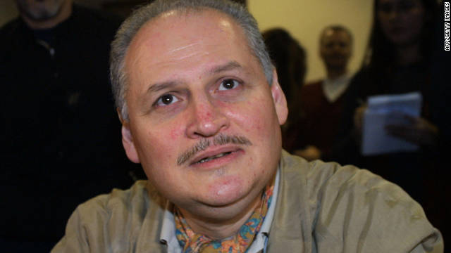 Picture of Venezuelan terrorist Illich Ramirez Sanchez known as 'Carlos the Jackal' taken at a Paris courthouse in November 2004.