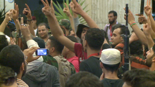 Tensions run high in Tripoli on Eid