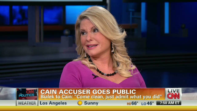 Cain accuser: I didn't sell my story
