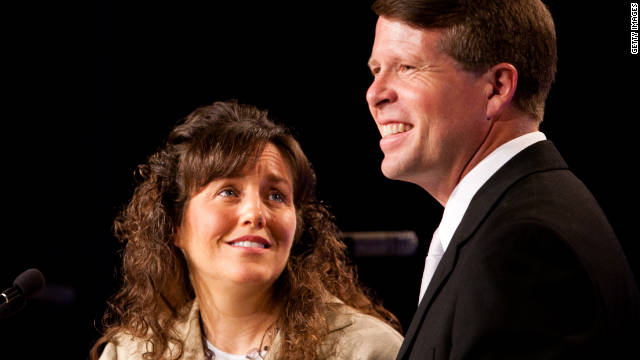 """The Duggars, Michelle and Jim Bob, are devout Christians and have left the number of children they have """"up to God."""""""