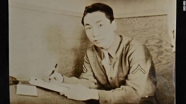 Don Oka serving during World War II.