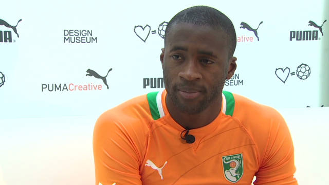 Yaya Toure eyes Man City success