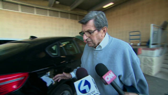 PSU's Joe Paterno speaks