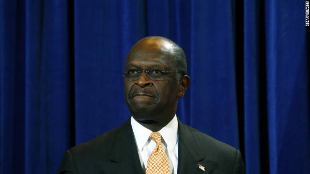 Herman Cain has denied allegations of sexual harassment and his campaign for president continues.