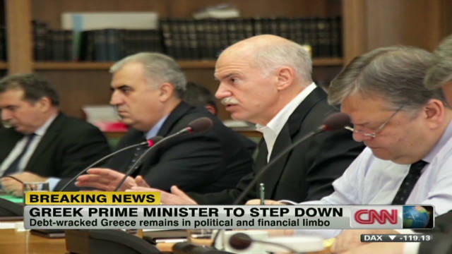 Greek PM to step down