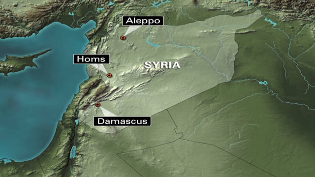 The battle for Homs, Syria