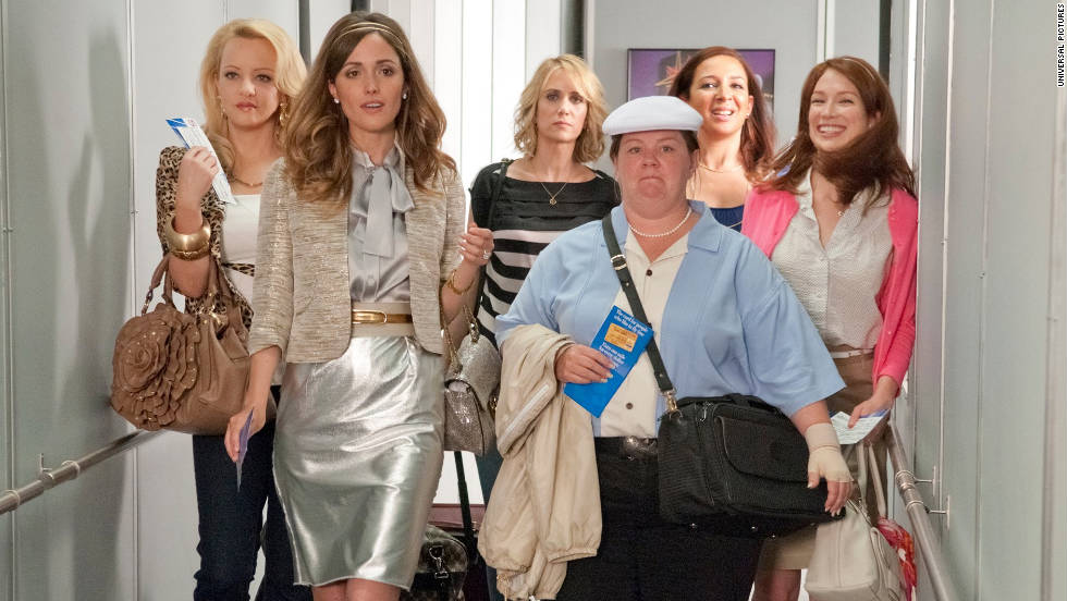"As if ""Bridesmaids"" wasn't funny enough -- a few musical numbers would take the female-driven buddy comedy to a whole new level. Maybe Wilson Phillips would partake."