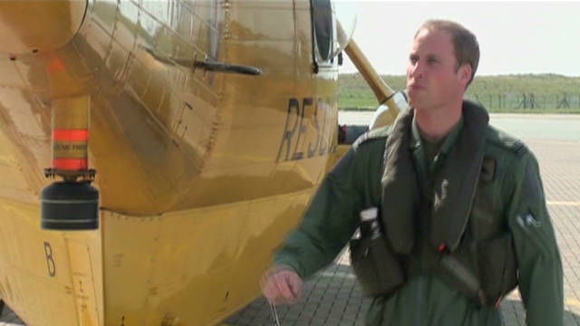 Prince William rescues sinking ship crew