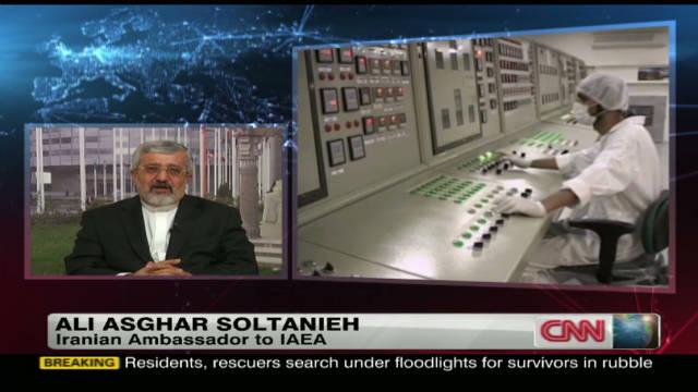 Iranian amb. to IAEA on nuclear activity