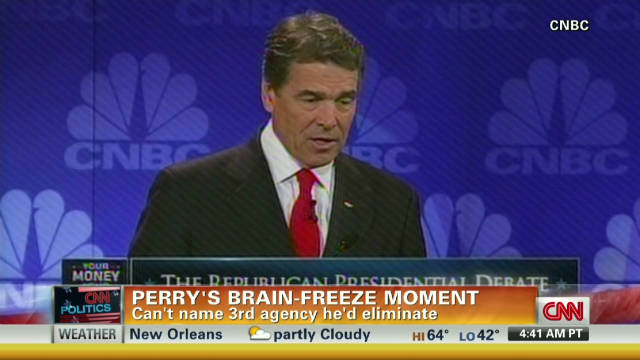 Will Perry campaign recover after flub?