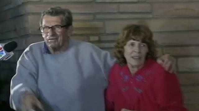 Paterno speaks to fans after firing