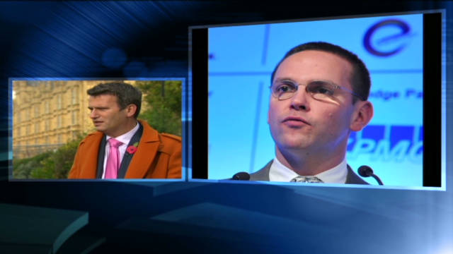 James Murdoch on the hot seat