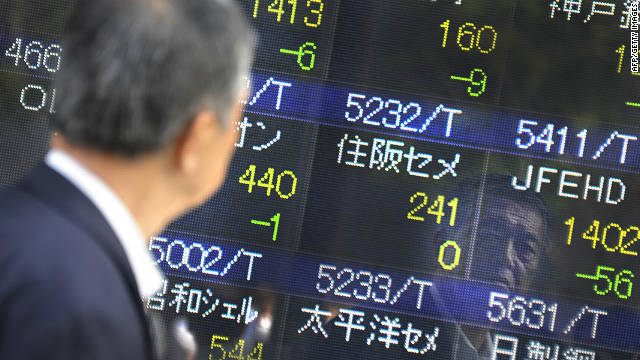 Asian stocks 'held hostage' by EU crisis